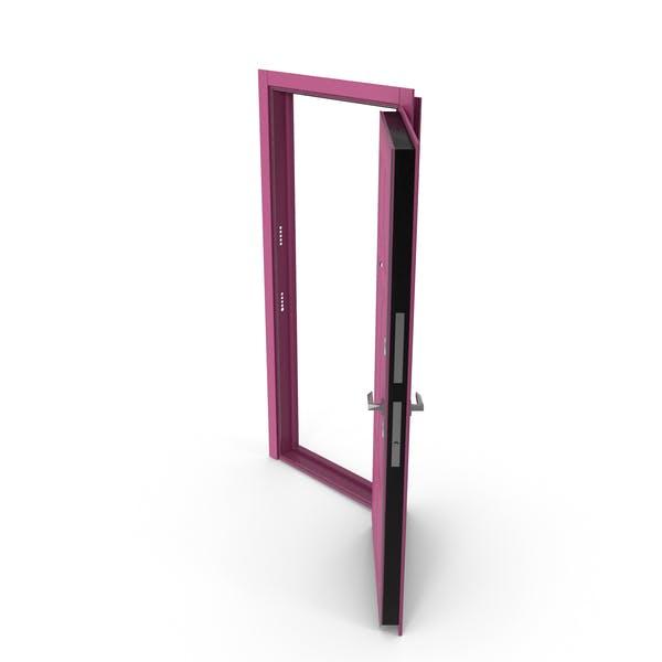 Entrance Door Purple