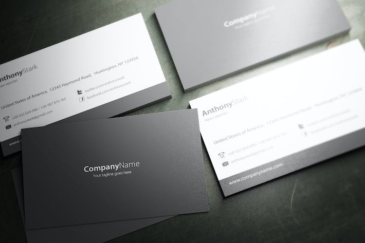 Cover Image For Simple Business Card Design