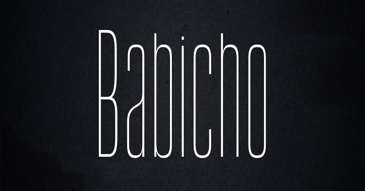 Download Babicho by AB-Designer