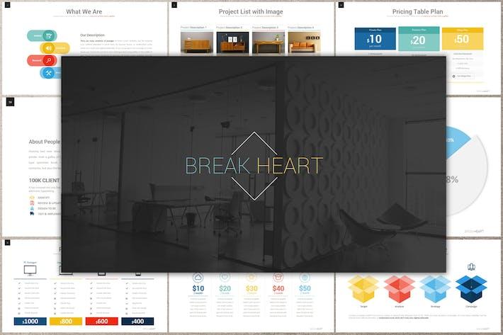 BREAK HEART Keynote