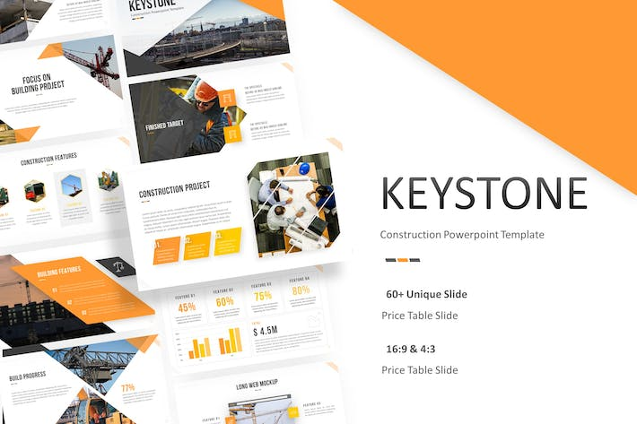 Thumbnail for Keystone - Construction Powerpoint Template