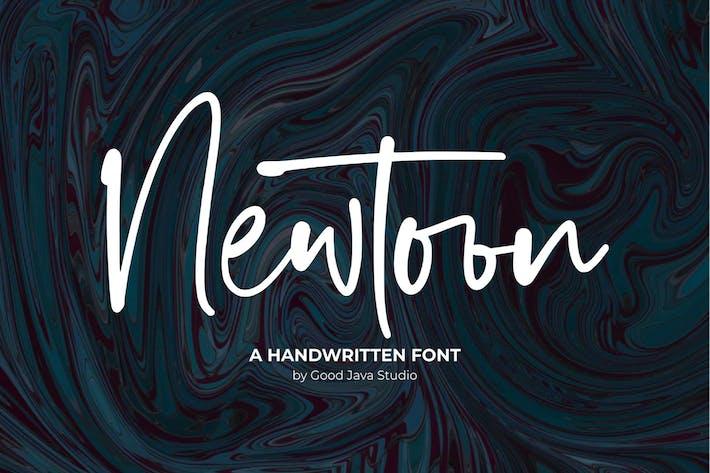 Newtoon - Style manuscrit