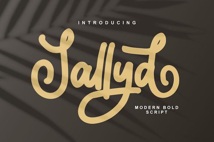 Thumbnail for Sallyd Modern Blod Script