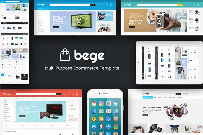 قالب ووردبريس : Bege – Responsive WooCommerce WordPress Theme