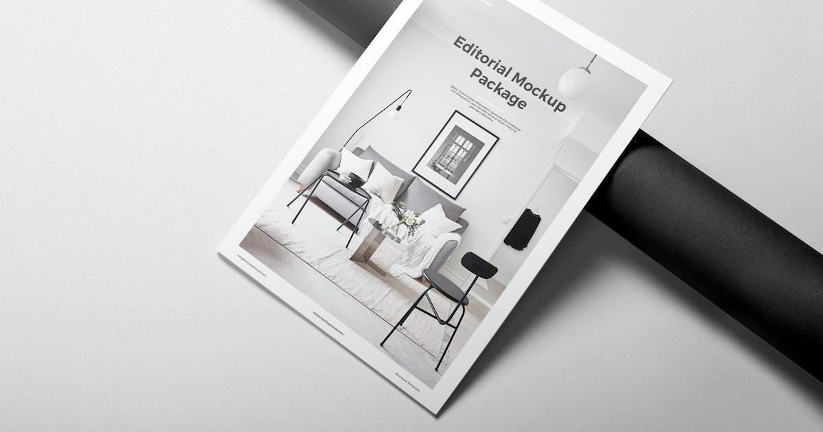Download Portrait Brochure Mockup Vol. 1 by Genetic96
