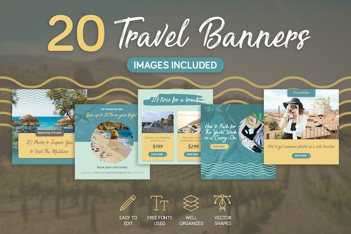 Thumbnail for Travel Banners