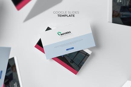 Novera : Corporate Business Brochure Google Slides