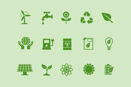 15 ÖkologieIcons
