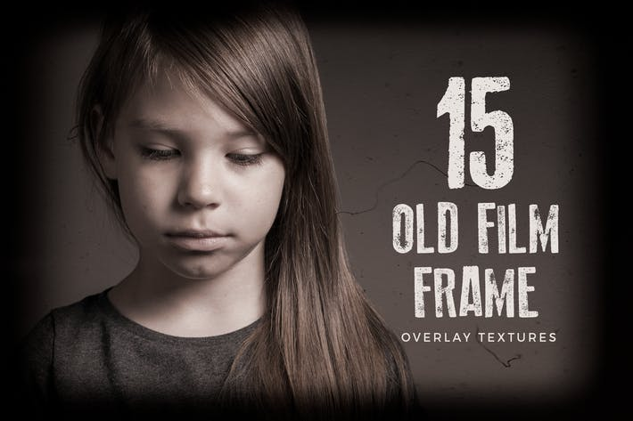Thumbnail for 15 Old Film Frame Overlay Textures