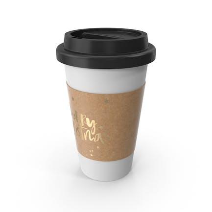Weihnachts-Kaffeetasse