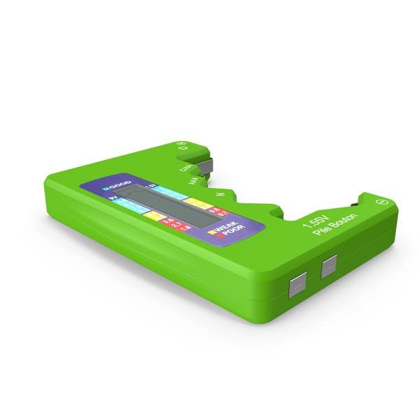 Battery Tester Green