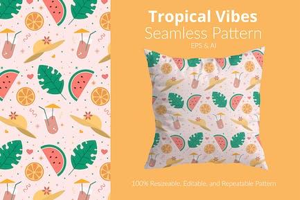 Tropische Schwingungen Pattern