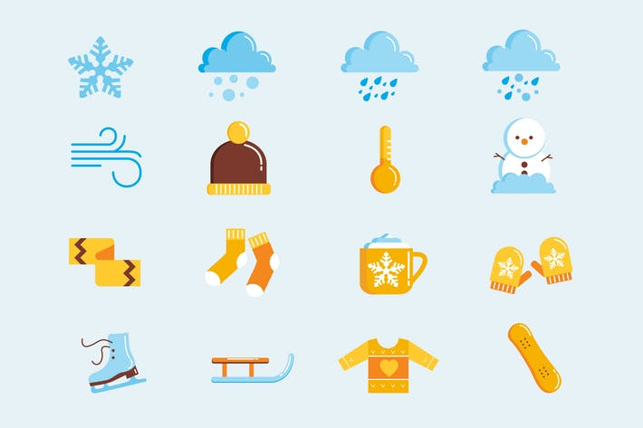 Thumbnail for Wintry Chill Icons