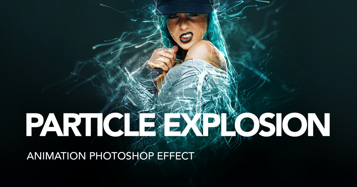 Download Gif Animated Particle Explosion Photoshop Action by sreda