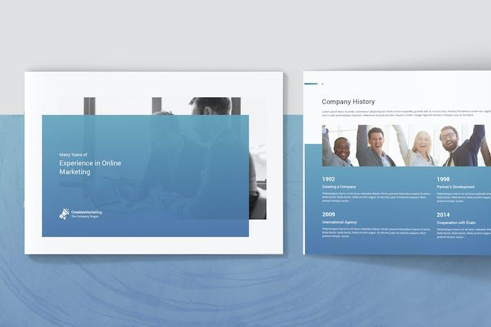 Thumbnail for Creative Marketing – Company Profile Landscape