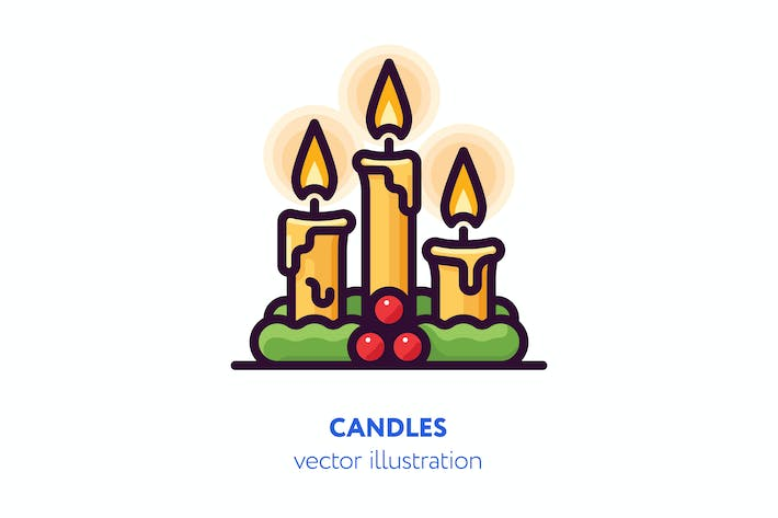 Thumbnail for Candles illustration