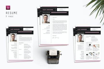 Alex Director Resume Designer