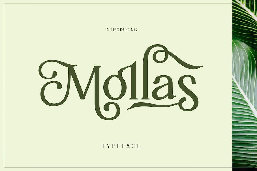 Mollas Typeface