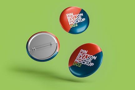 Pin Button Badge Mockup 002
