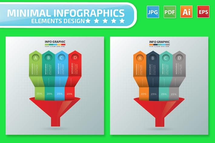 Thumbnail for Funnel Infographics Design
