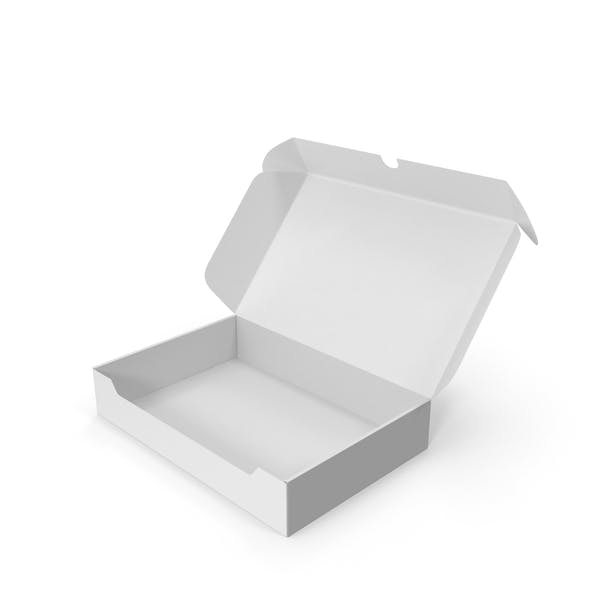 Thumbnail for Упаковочная коробка из белого картона