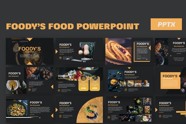 Thumbnail for Foody Food Powerpoint