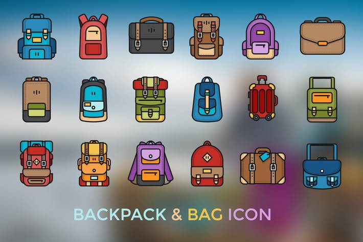 Thumbnail for Backpack & Bag Icon