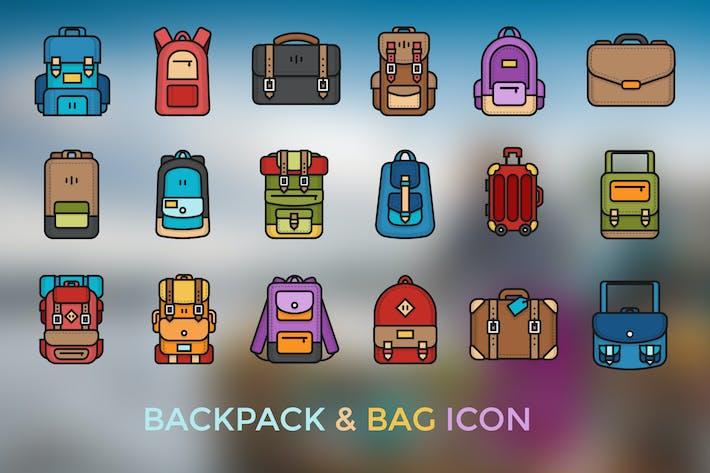 Rucksack & Tasche Icon