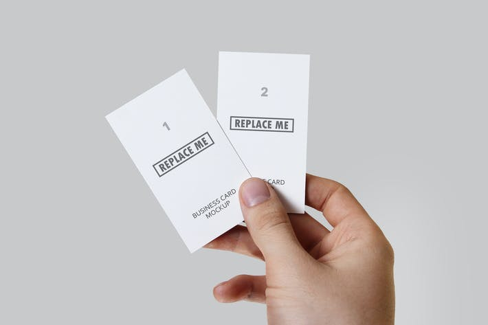 Thumbnail for Handheld Print Mockups