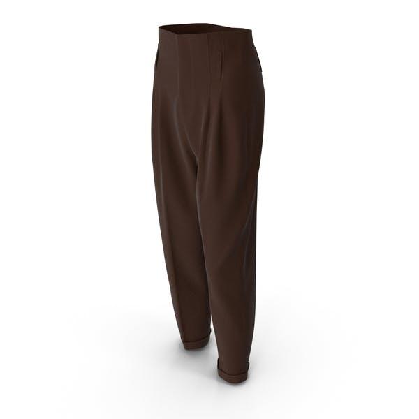 Women's Pants Brown