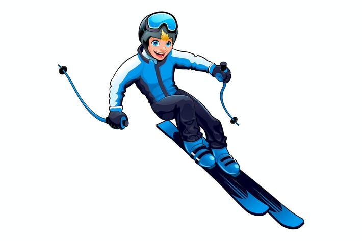 Thumbnail for Young Skier