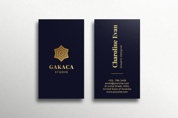 Luxus Visitenkarte