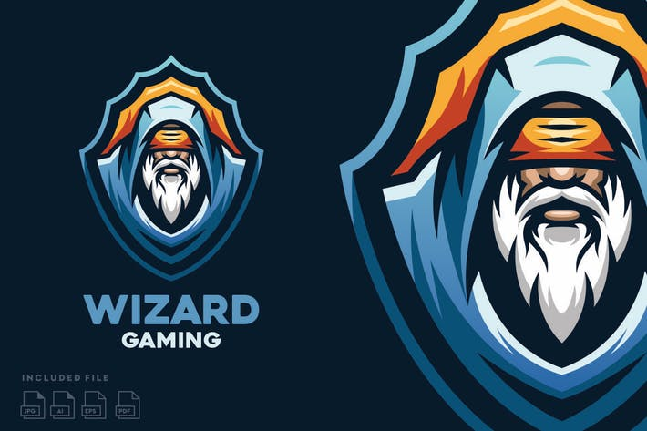 Thumbnail for Wizard - Esport Logo Design
