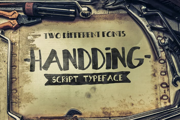 Thumbnail for Hannding Script Duo