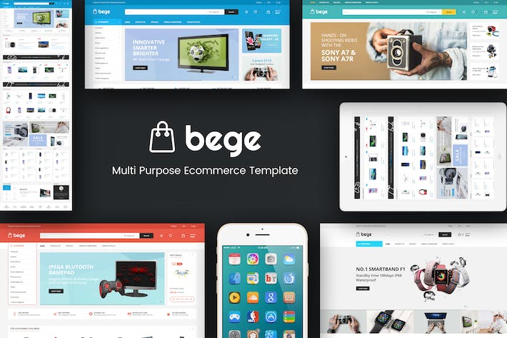 Thumbnail for Bege - Responsive Magento Theme