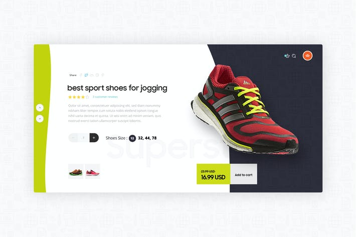 Thumbnail for Modern Product Page Exploration