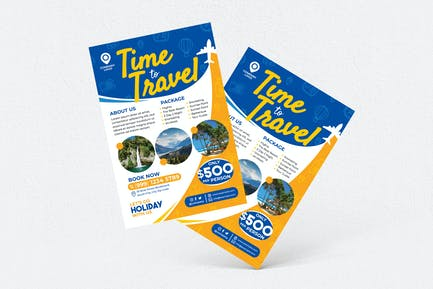 Holiday Travel Flyer #1
