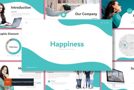 Happiness - Powerpoint Template