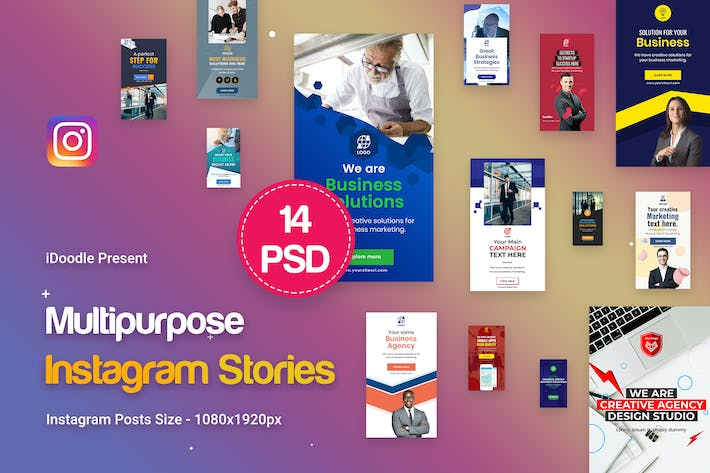 Thumbnail for Instagram Multipurpose, Business Stories