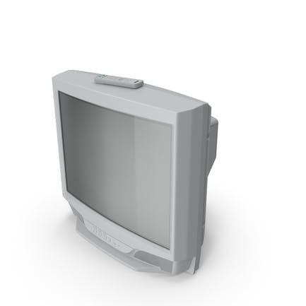 Vintage 00s CRT TV with IR Control Off