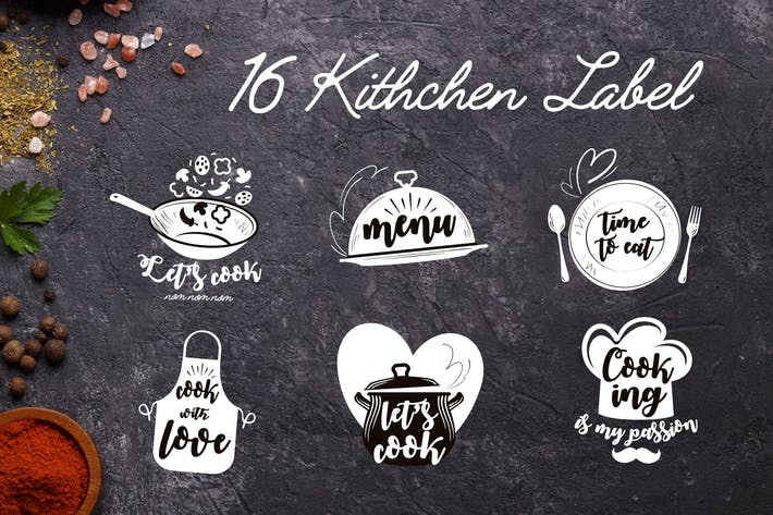 16 Kitchen Labels