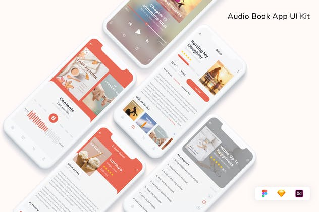 Audio Book App UI Kit