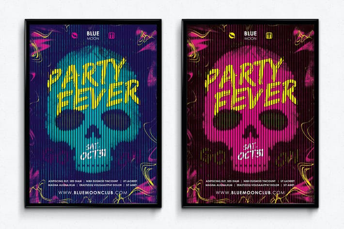 Thumbnail for Party Fever Club Poster