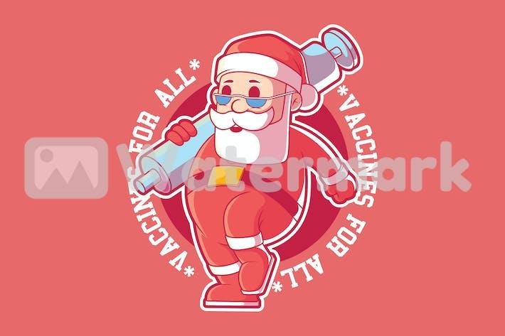 Vaccine Santa