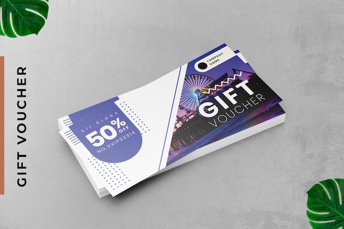 Playground Gift Voucher Card Promotion