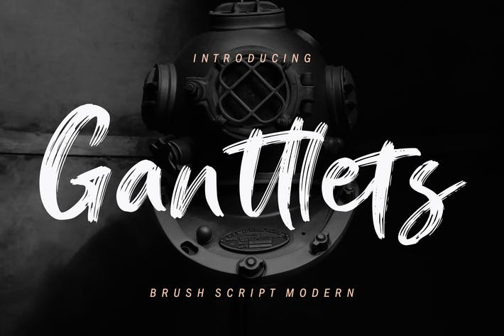 Thumbnail for Ganttlets Brush Script