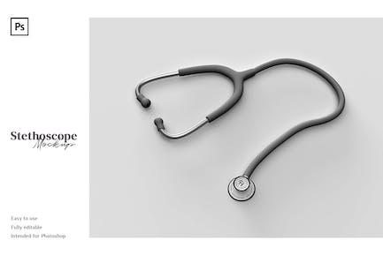 Stethoscope Mockup