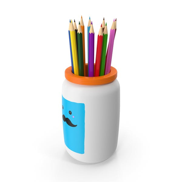 Цветные карандаши держатель