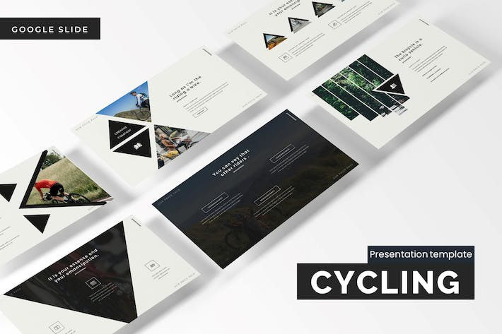 Thumbnail for Cycling - Google Slides Template