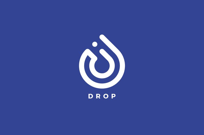 Thumbnail for Drop Logo Template